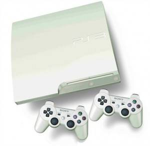 PlayStation 3 slim en color blanco