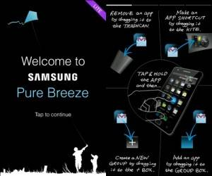 Pure Breeze.la nueva interfaz de usuario de Samsung para smartphones Android