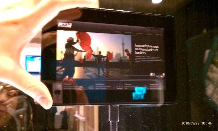 Tableta PlayBook 2.0 de BlackBerry