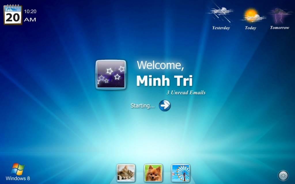 Windows 8 Logon Screen by minhtrimatrix