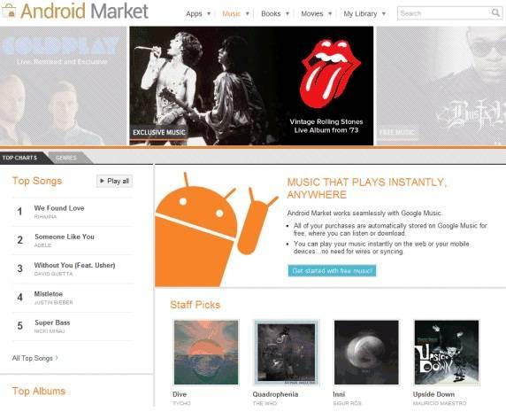 googlemusic store