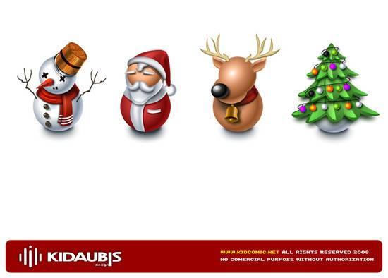 2012 Christmas icon navidad