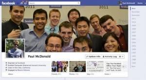 biografía de los usuarios Facebook