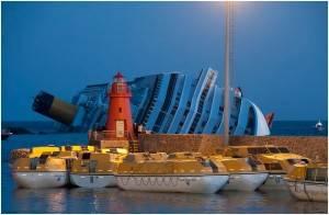 Una galería en Flickr creada por Yahoo! sobre el hundido Costa Concordia
