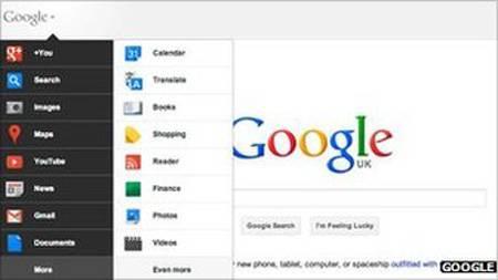 nueva interfaz google