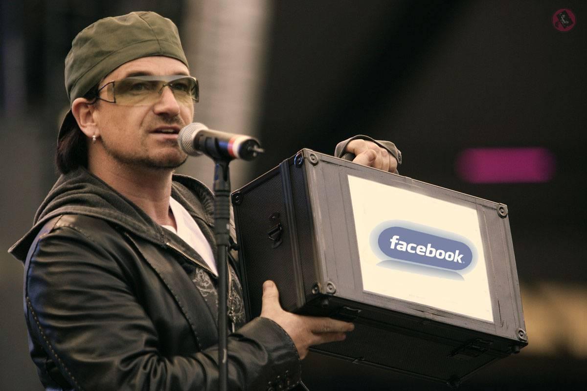 Bono es dueño de 1,5 % de Facebook.