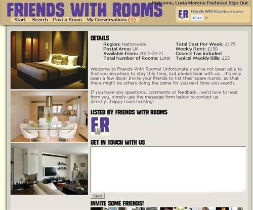 Friends with rooms