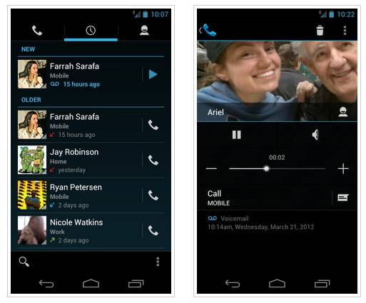 google voice para android