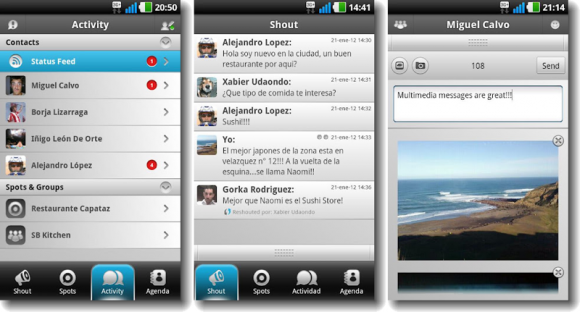 spotbros alternativa al whatsapp