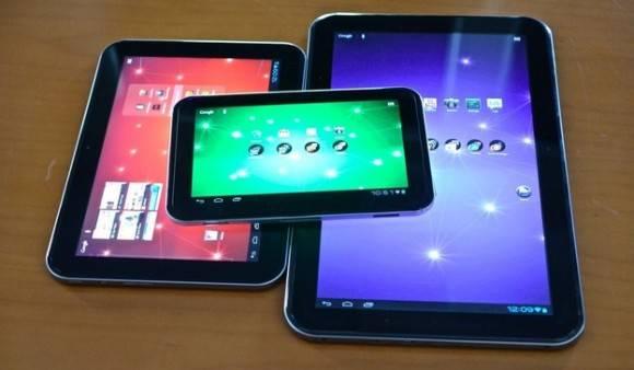 thosiba lanzara tres nuevas tablets