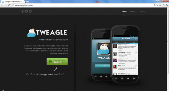 Tweagle cliente twitter android
