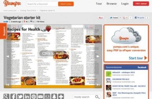 Yumpu transforma pdf a revista online