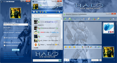 halo live messenger by kefeng