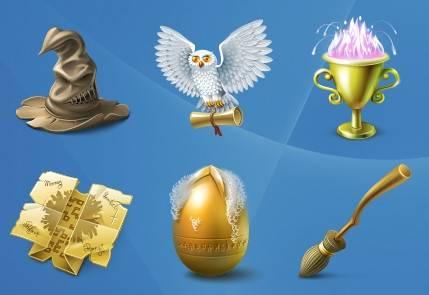 iconos harry potter