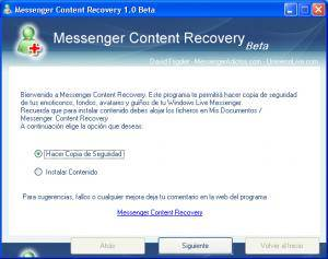 messenger-content-recovery