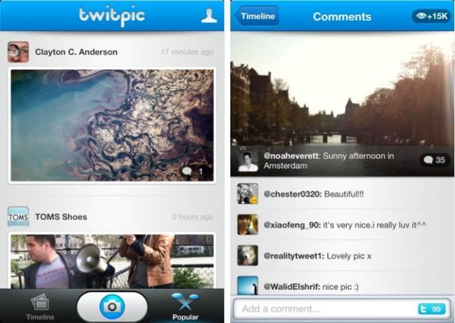 twitpic alternativa a instagram