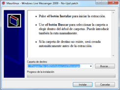 parche anti actualización Messenger