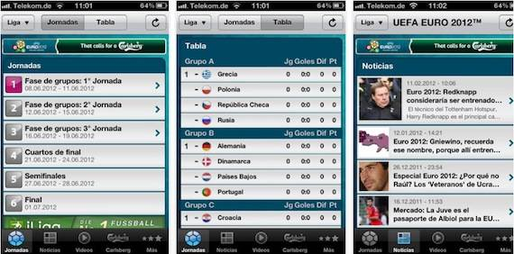 sigue en directo la eurocopa en tu iphone