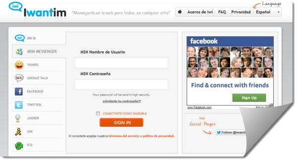 web messenger
