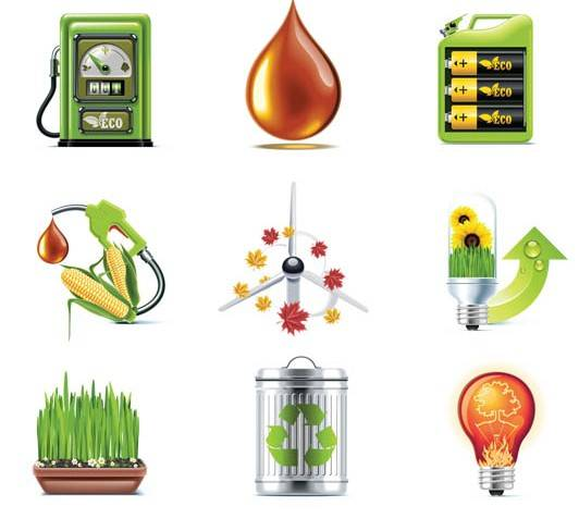 iconos biocombustibles