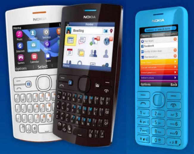Los nuevos modelos de gama entrada Nokia Asha 205 y 206
