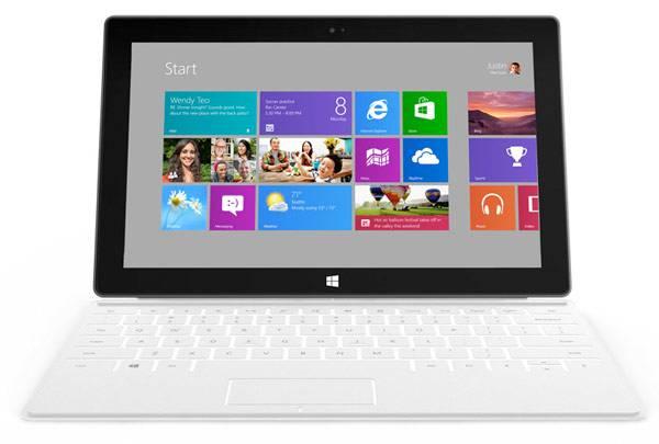 La interfaz Modern UI en el Windows 8 RT