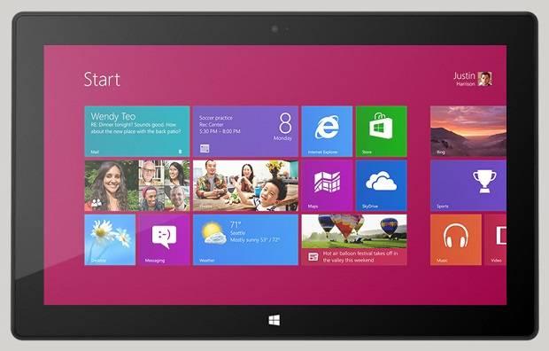 La ambiciosa tablet con Windows 8 RT