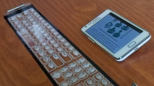 qii teclado enrollable