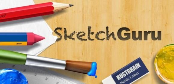 sketch guru aplicacion android