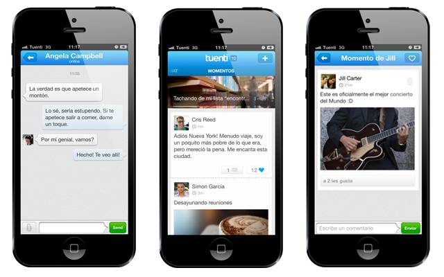 tuenti Social Messenger