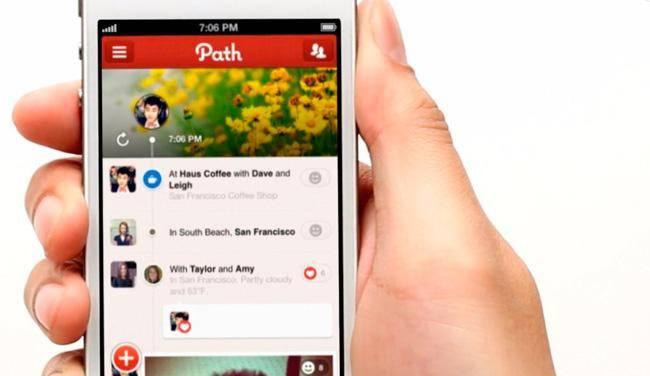 Path redes sociales
