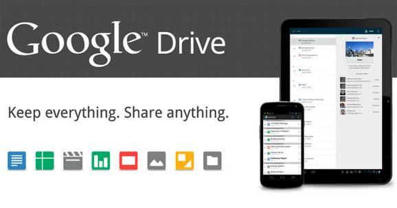 google drive android nueva actualizacion