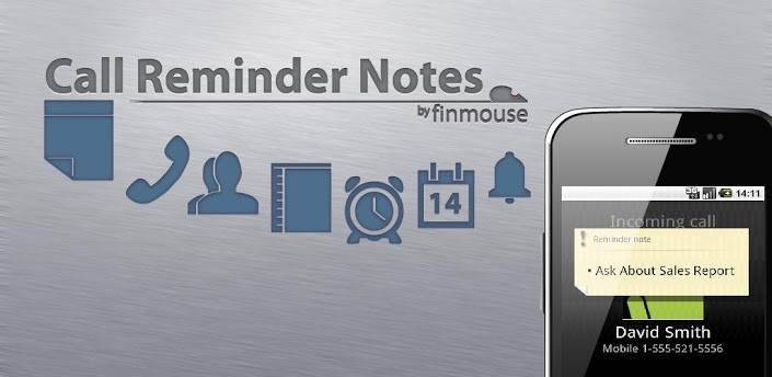 Call Reminder Notes; para tomar nota