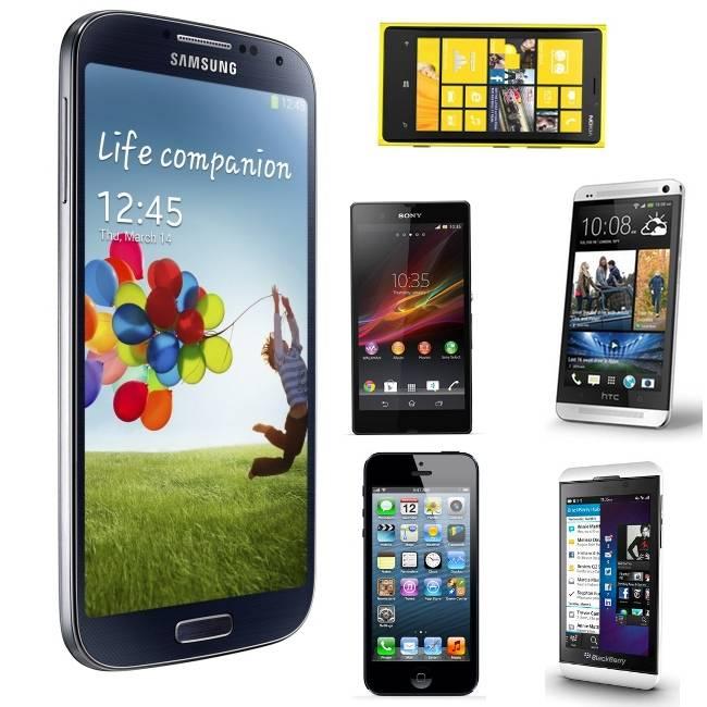 Samsung galaxy S4 contra todos
