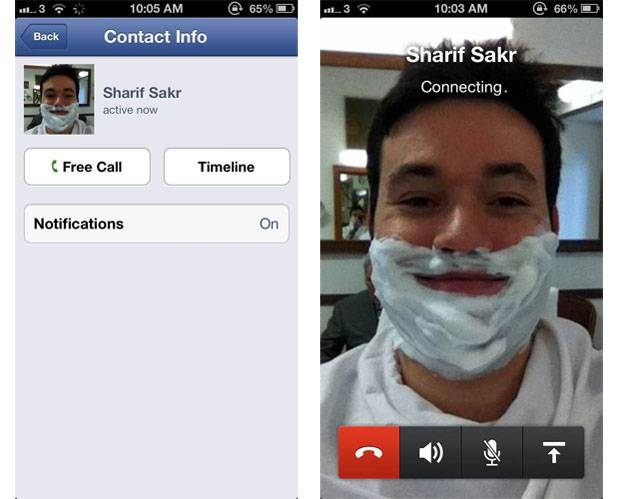 facebook messenger para iOS