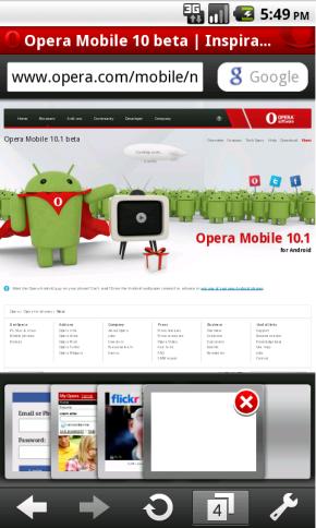 Opera Browser, tu mejor navegador en Android