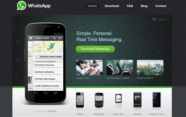 el actual lider de mensajeria por internet whatsapp