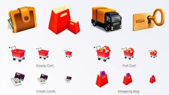 ecommerce iconos
