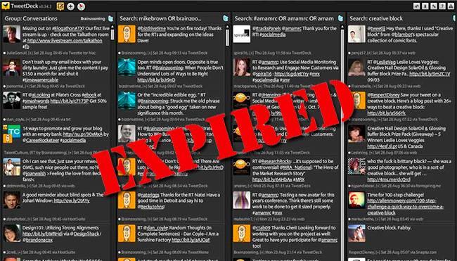 TweetDeck en dispositivos móviles perderá el soporte el 7 de mayo