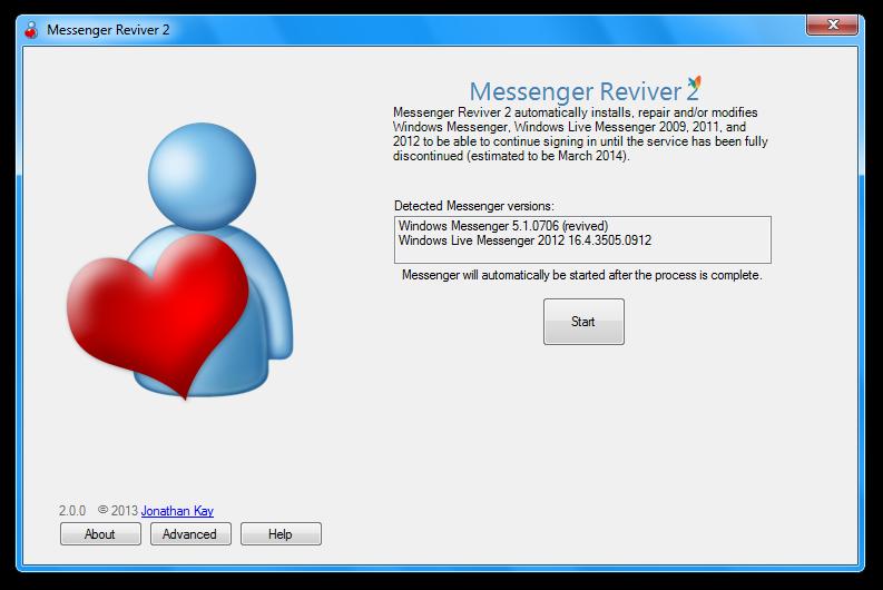 Messenger Reviver; la aplicación para revivir Messenger y olvidarte de Skype