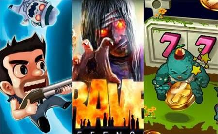 Juegos zombies Android 11