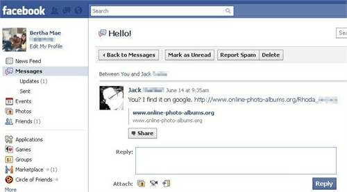 Eliminar spam Facebook 11