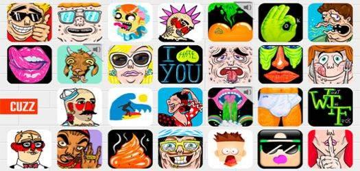 cuzz mensajeria instantanea basada en iconos
