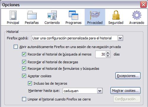 privacidad en Firefox 1(1)