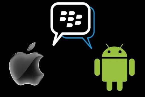 BlackBerry Messenger en Android e iOS