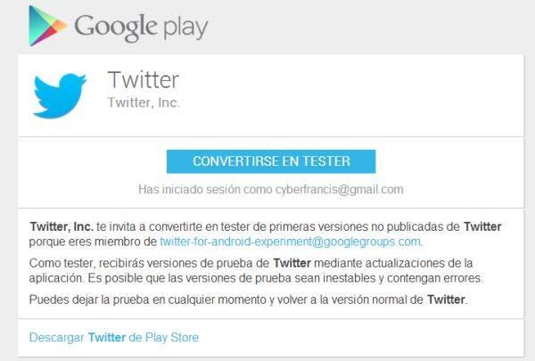 TwitterTester