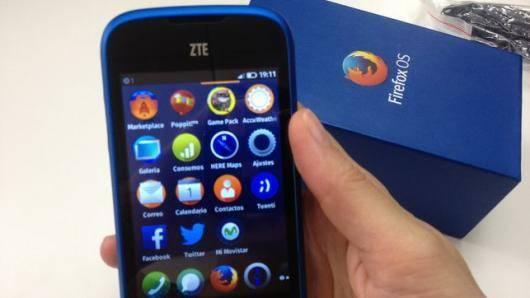 smartphone zte open con