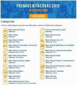 Bitacoras 2013
