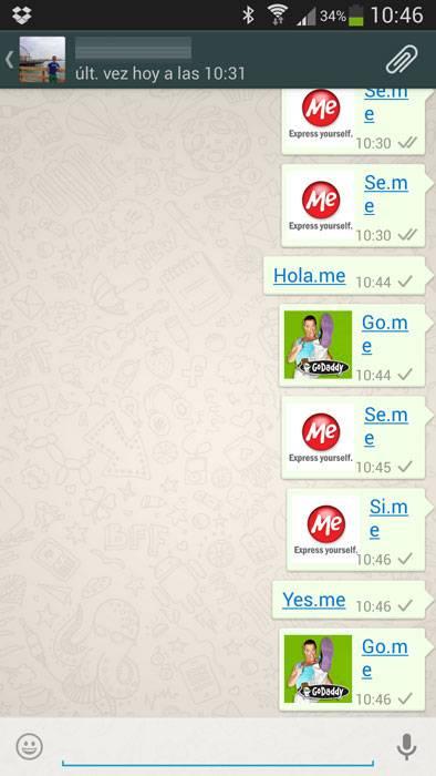 WhatsApp publicidad conversaciones 1
