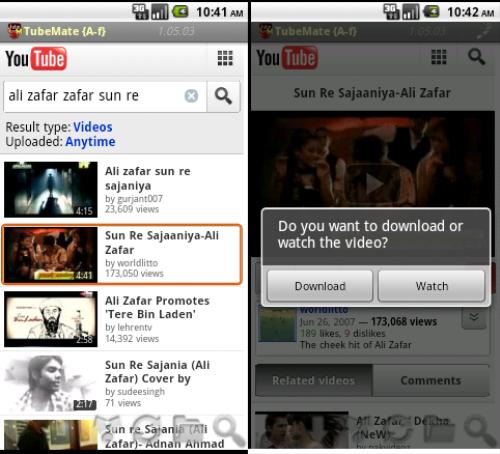 Descargar videos Youtube Android 2 (500x200)